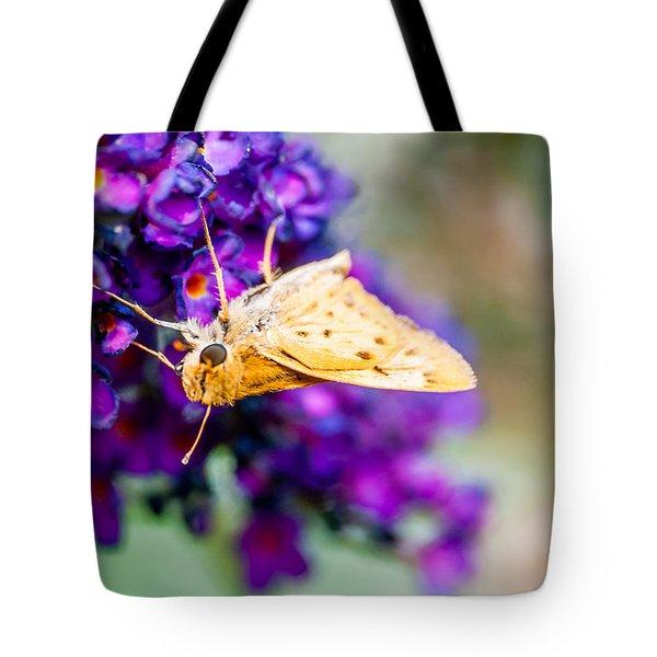 Spring Moth Tote Bag