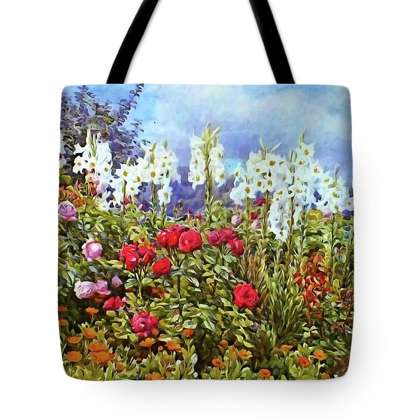 Tote Bag featuring the photograph Spring by Munir Alawi