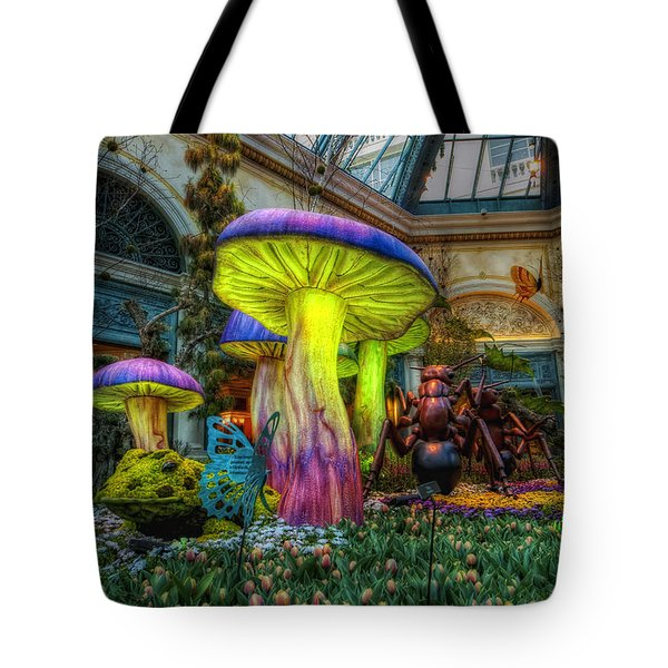 Spring Mushrooms Tote Bag