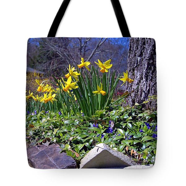 Spring Tote Bag by  Newwwman