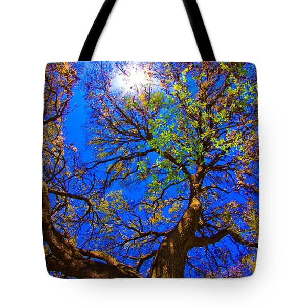 Spring Oak Tote Bag