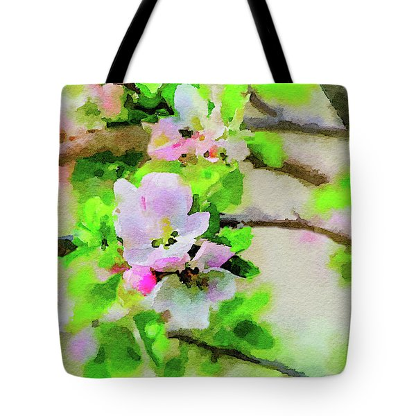 Spring On A Branch Tote Bag