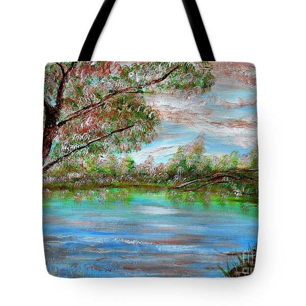 Spring On Arkansas' Greer's Ferry Lake Tote Bag