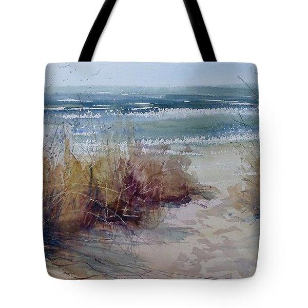 Spring On Lake Michigan Tote Bag