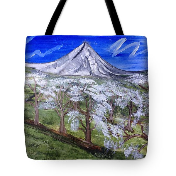 Spring On The Hood Tote Bag