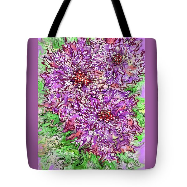 Spring On The Way Tote Bag by Yvonne Blasy