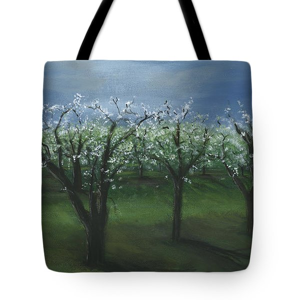Spring Orchard Tote Bag