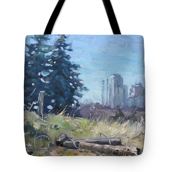 Spring Over The Hills Tote Bag