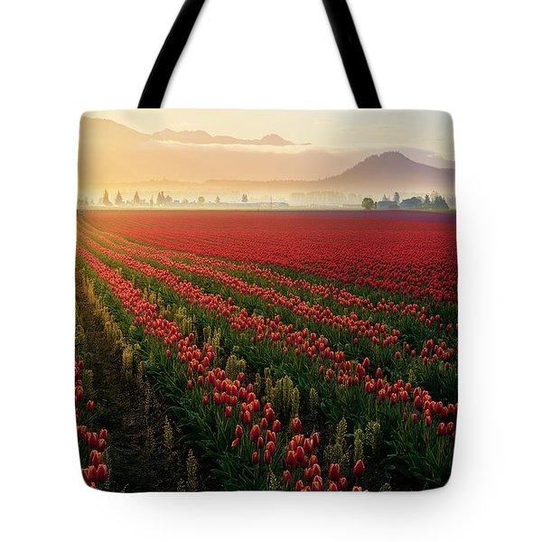 Spring Palette Tote Bag by Ryan Manuel