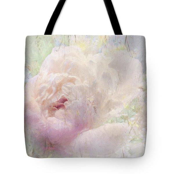 Spring Peony Tote Bag