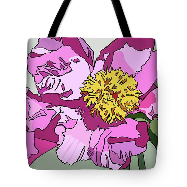 Spring Pink Tote Bag by Jamie Downs