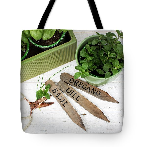 Tote Bag featuring the photograph Spring Plants by Rebecca Cozart