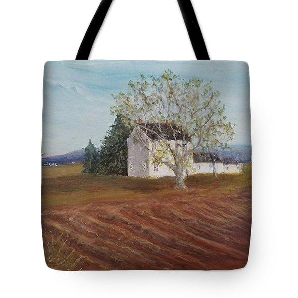 Spring Plowing Tote Bag