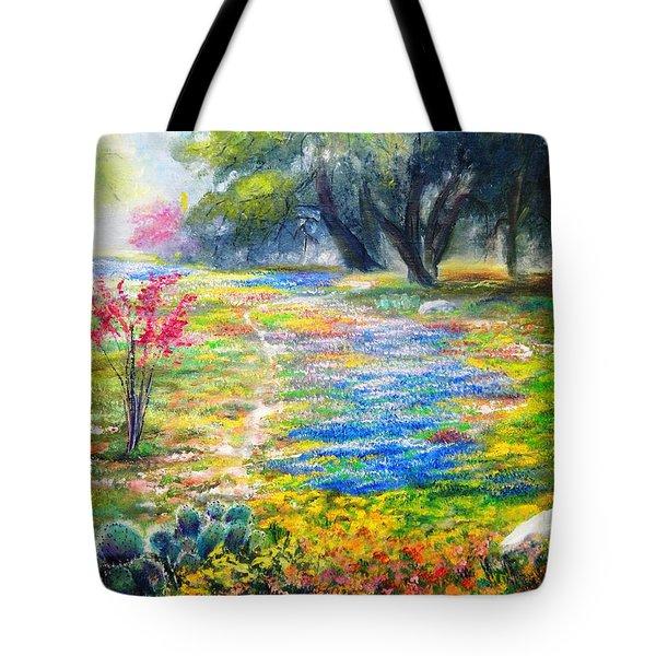 Spring Profusion Tote Bag by Patti Gordon