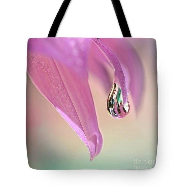 Spring Raindrop By Kaye Menner Tote Bag