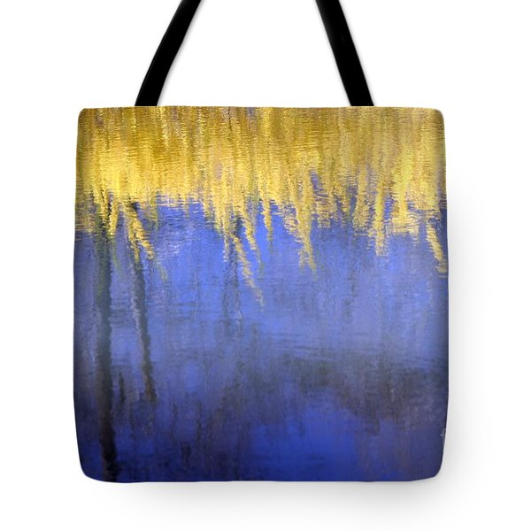 Spring Reflections Tote Bag by Living Color Photography Lorraine Lynch