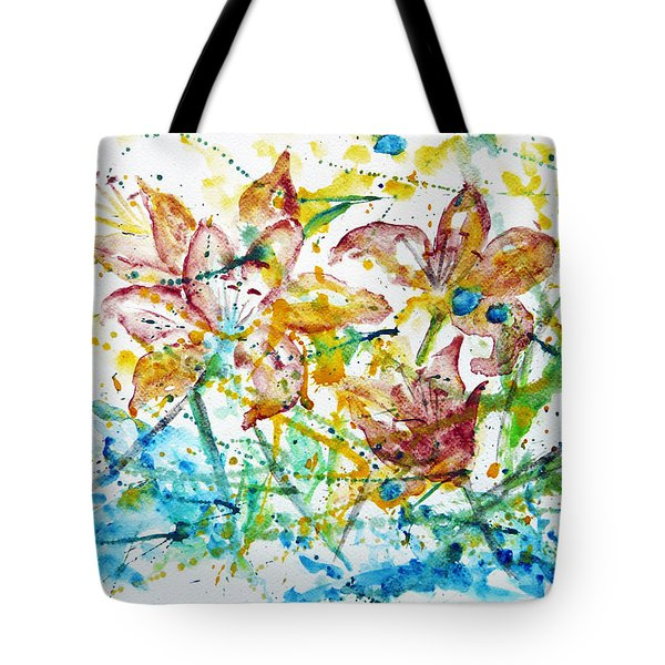 Spring Rhapsody Tote Bag by Jasna Dragun