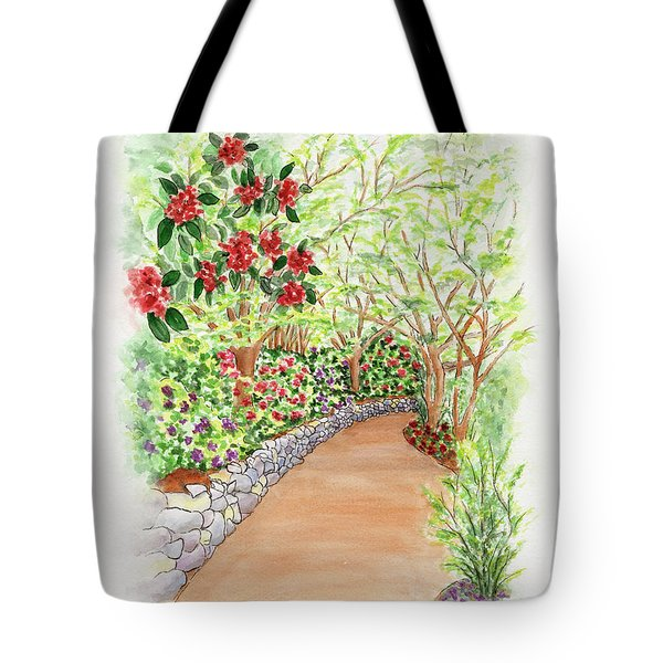 Spring Rhodies Tote Bag