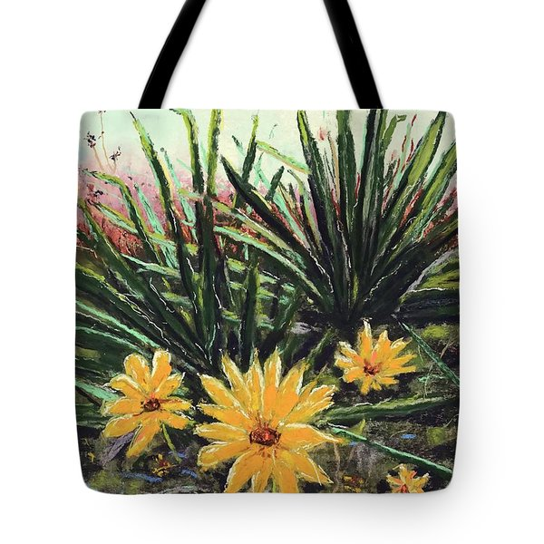 Tote Bag featuring the pastel Spring Rising by Vickie Scarlett-Fisher