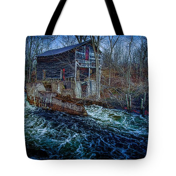 Spring Runoff Tote Bag