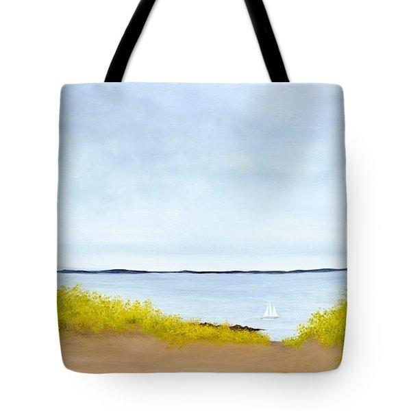 Spring Sail Tote Bag
