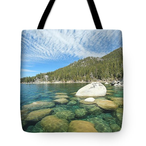 Spring Shores  Tote Bag