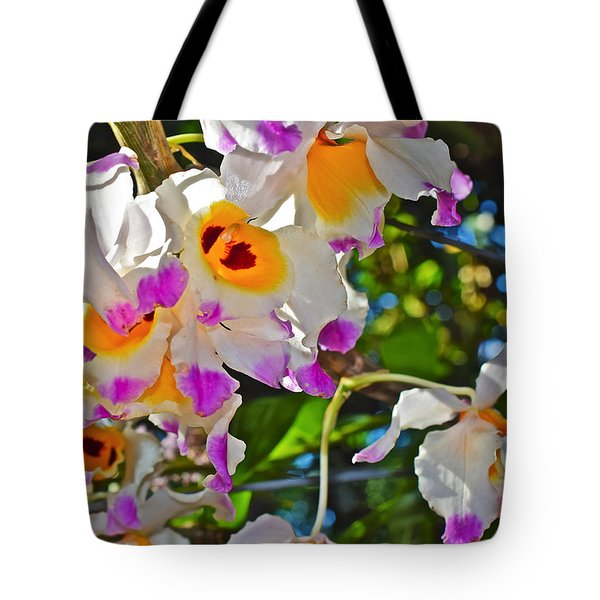Spring Show 15 Brazilian Orchid Tote Bag