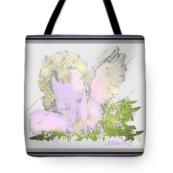 Spring Shower Slumber Tote Bag