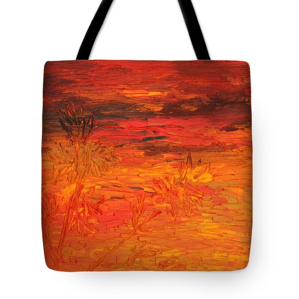 Spring Twilight Tote Bag