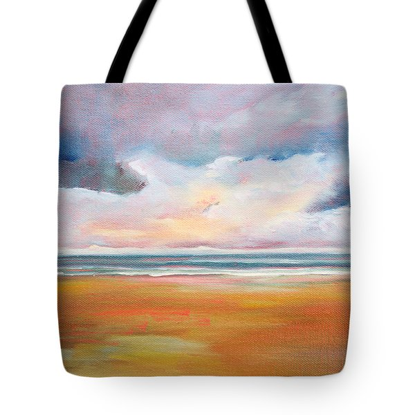 Spring Skies Tote Bag