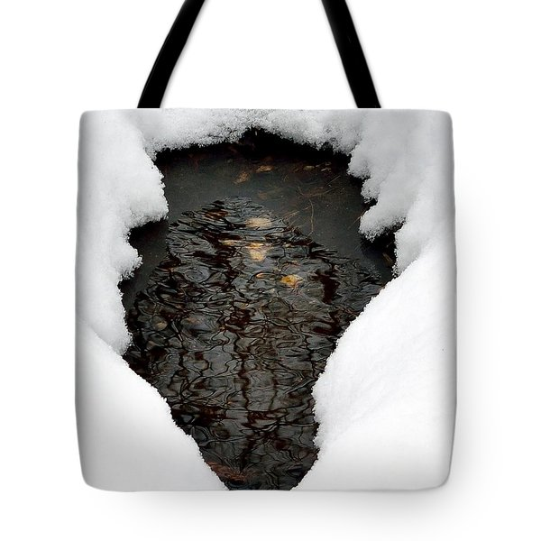 Tote Bag featuring the photograph Spring Snow by EDi by Darlene
