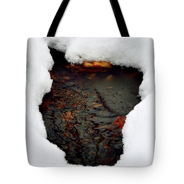 Tote Bag featuring the photograph Spring Snow II by EDi by Darlene