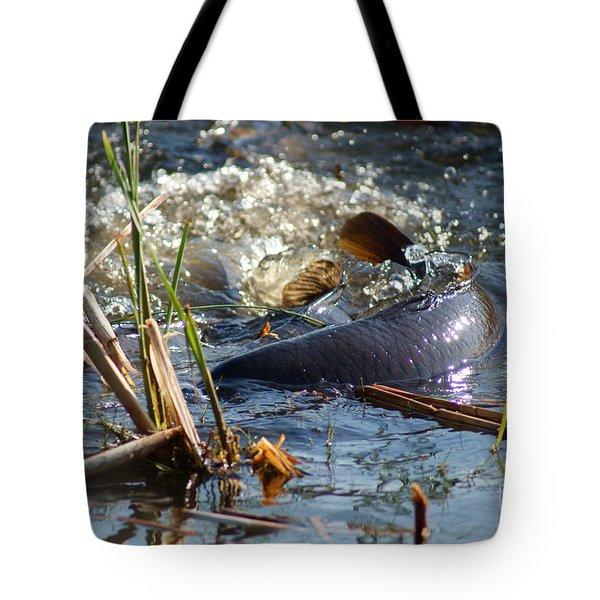 Spring Spawn Tote Bag by Joanne Smoley
