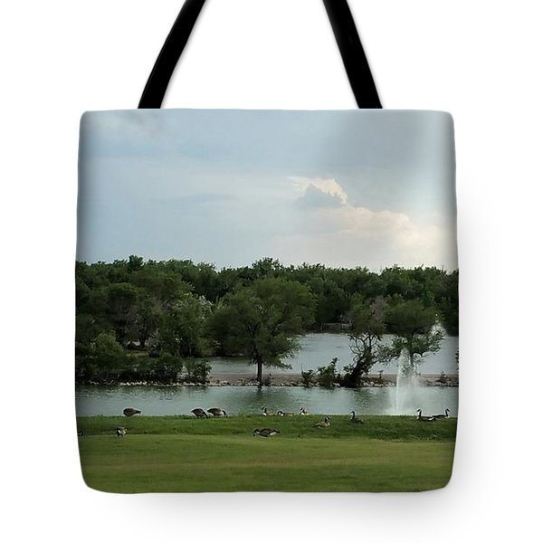 Spring Splendor Tote Bag by Sylvia Thornton