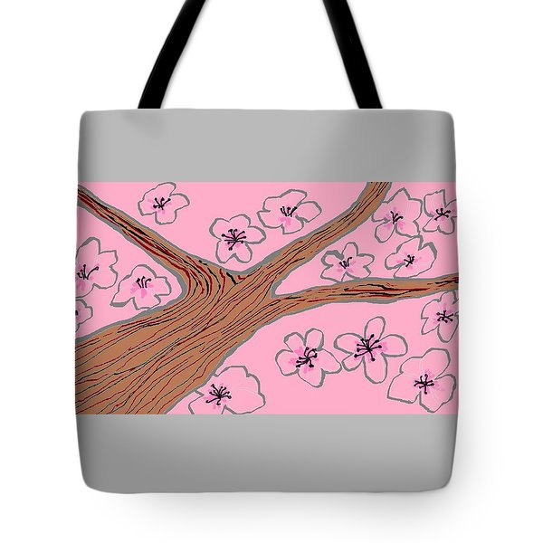 Spring Stained Glass 3 Tote Bag