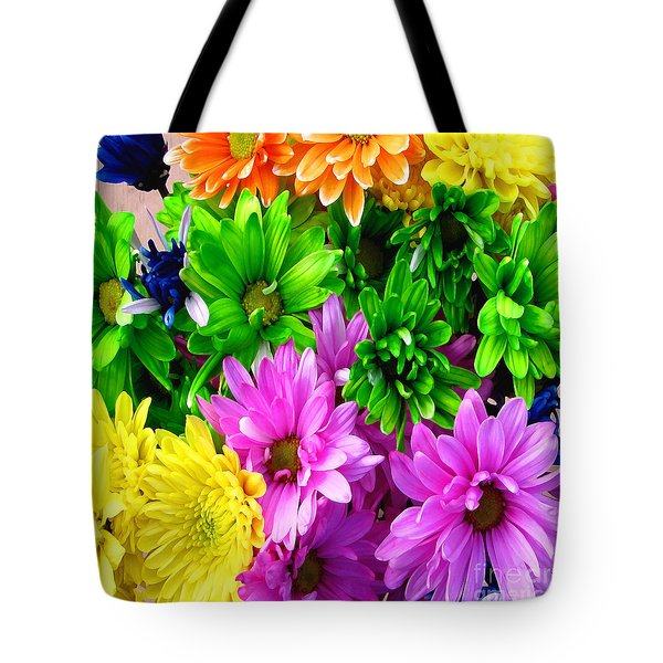 Tote Bag featuring the painting Spring Still Life Floral 721 by Mas Art Studio