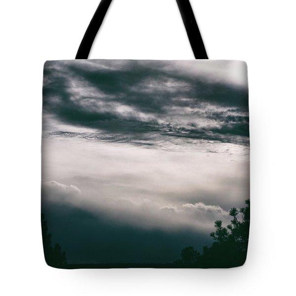 Spring Storm Cloudscape Tote Bag