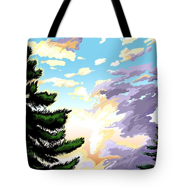 Spring Sunrise 01 Tote Bag