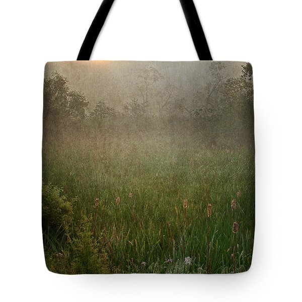 Spring Sunrise In The Valley Tote Bag