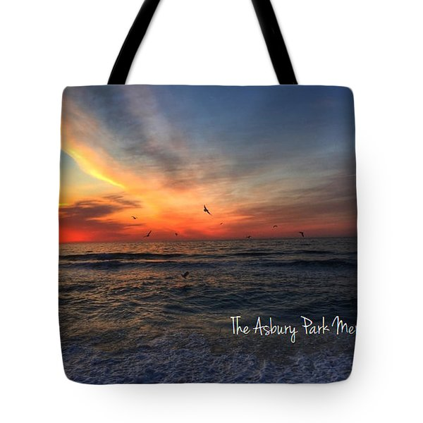 Spring Sunrise Over The Asbury Park Waterfront 2015 Tote Bag
