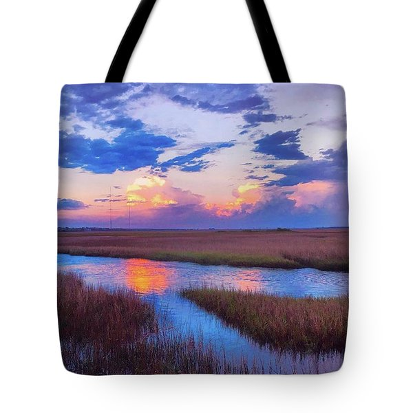 Spring Sunset! 😍🌅 We Got A Pop Up Tote Bag