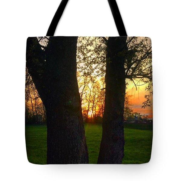 Spring Sunset 2018 Tote Bag