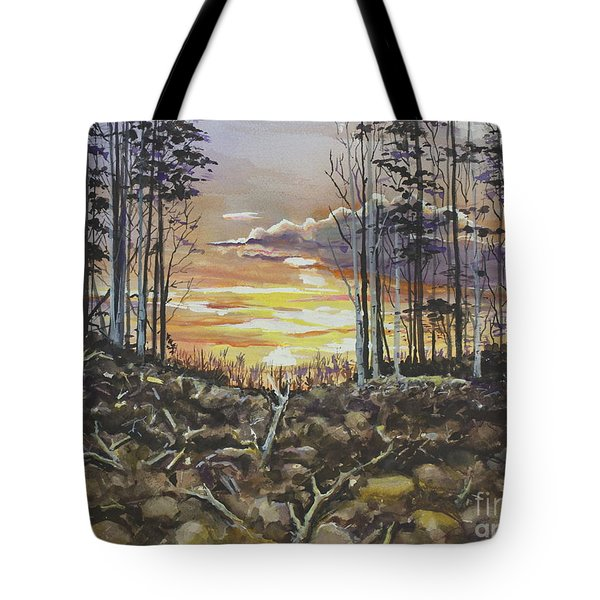 Spring Sunset Tote Bag