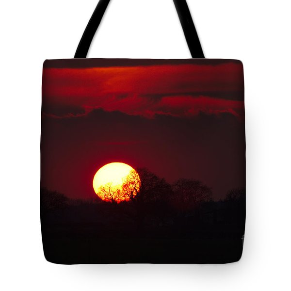 Spring Sunset Tote Bag