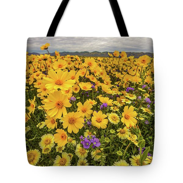 Tote Bag featuring the photograph Spring Super Bloom by Peter Tellone