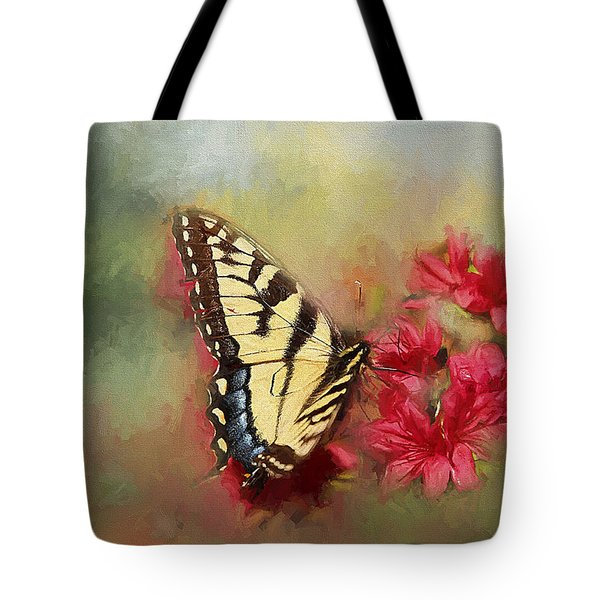 Spring Swallowtail Tote Bag by Darren Fisher
