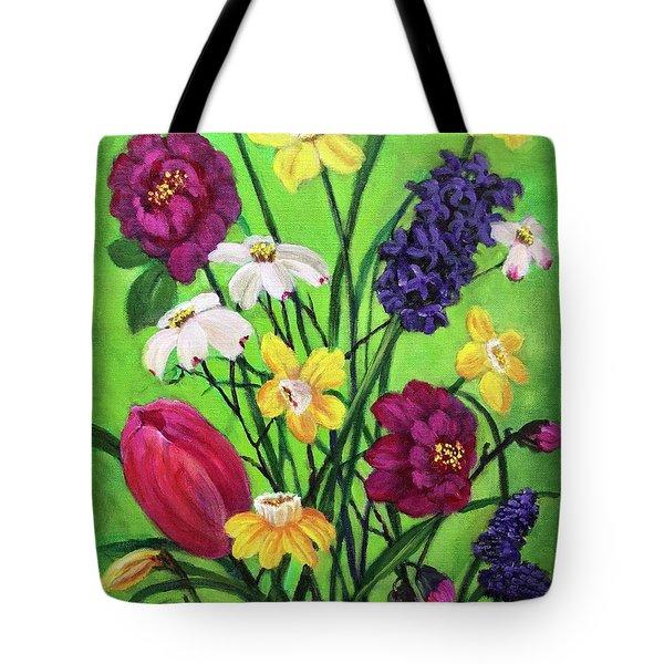Spring Symphony Tote Bag