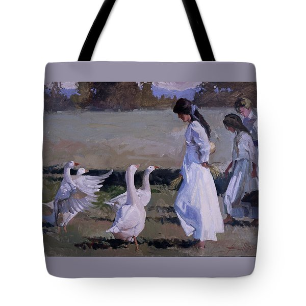 Spring Temptress Tote Bag