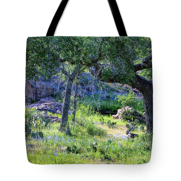 Spring Time In Texas Tote Bag