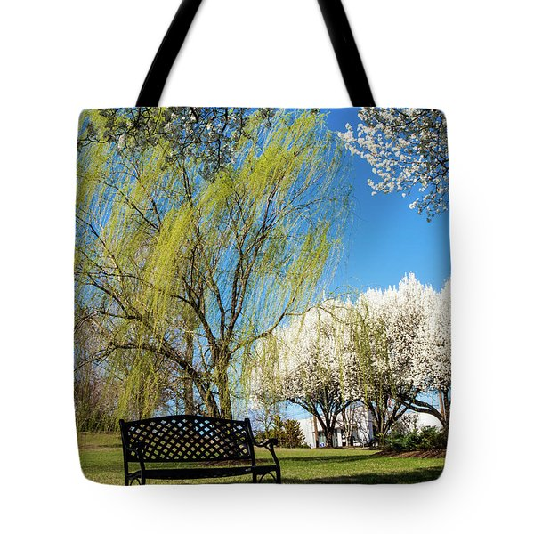 Tote Bag featuring the photograph Spring Time by Randy Sylvia